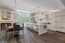 Open Floor Plan with floor to ceiling windows - 3629 ALBEMARLE ST NW, WASHINGTON