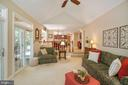Cathedral ceiling - 6411 SPRINGHOUSE CIR, CLIFTON