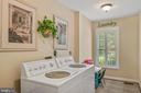 Huge laundry room with window - 6411 SPRINGHOUSE CIR, CLIFTON