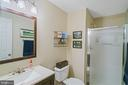 3rd full bath on LL - 6411 SPRINGHOUSE CIR, CLIFTON