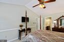 Chair rail - 6411 SPRINGHOUSE CIR, CLIFTON