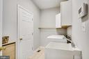 Laundry Room w/ Utility Sink - 25973 STINGER DR, CHANTILLY