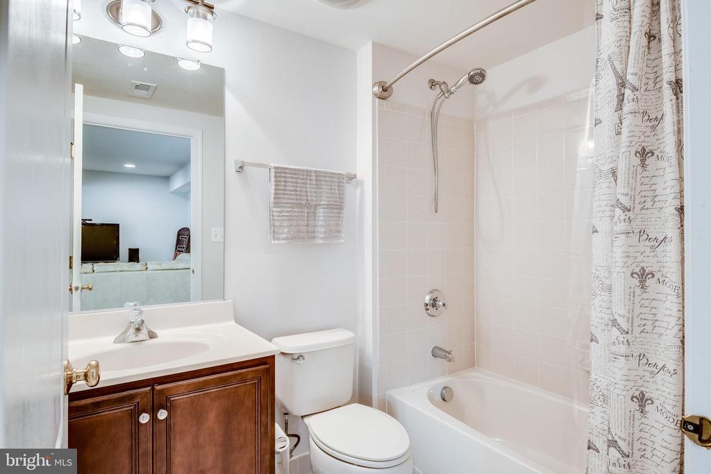 Lower Level Full Bath - 25973 STINGER DR, CHANTILLY
