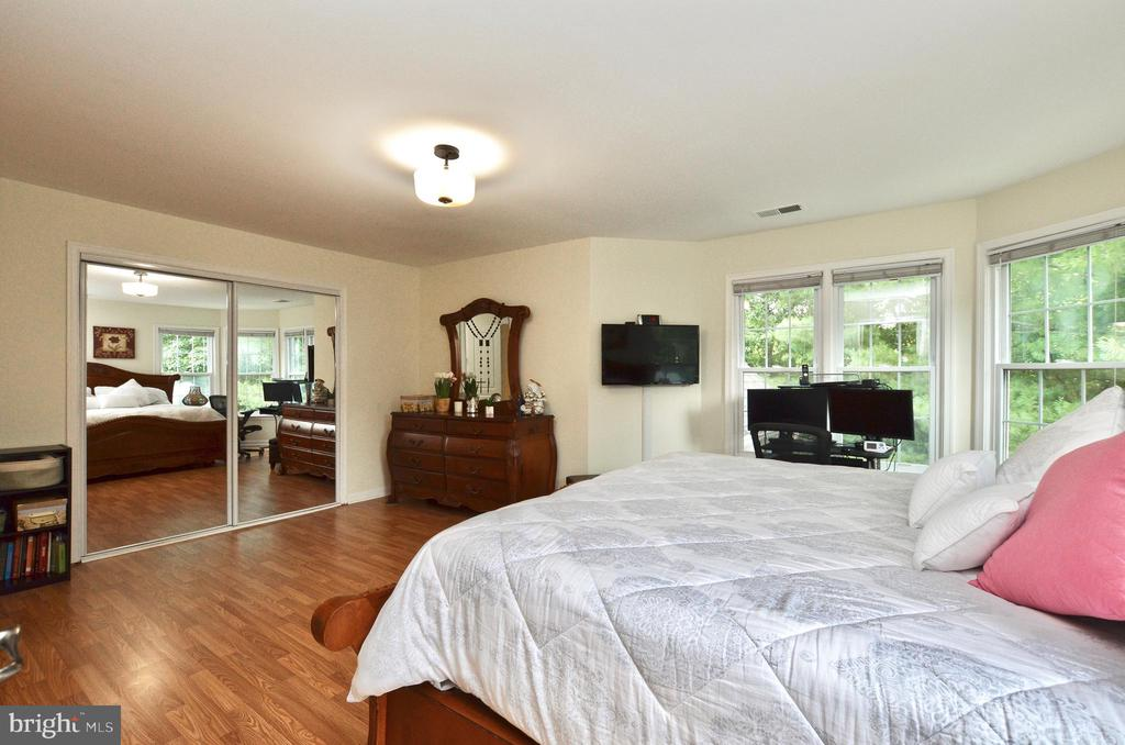 Master  bedroom with walk-in and mirrored closets - 46521 HOLLYMEAD PL, STERLING