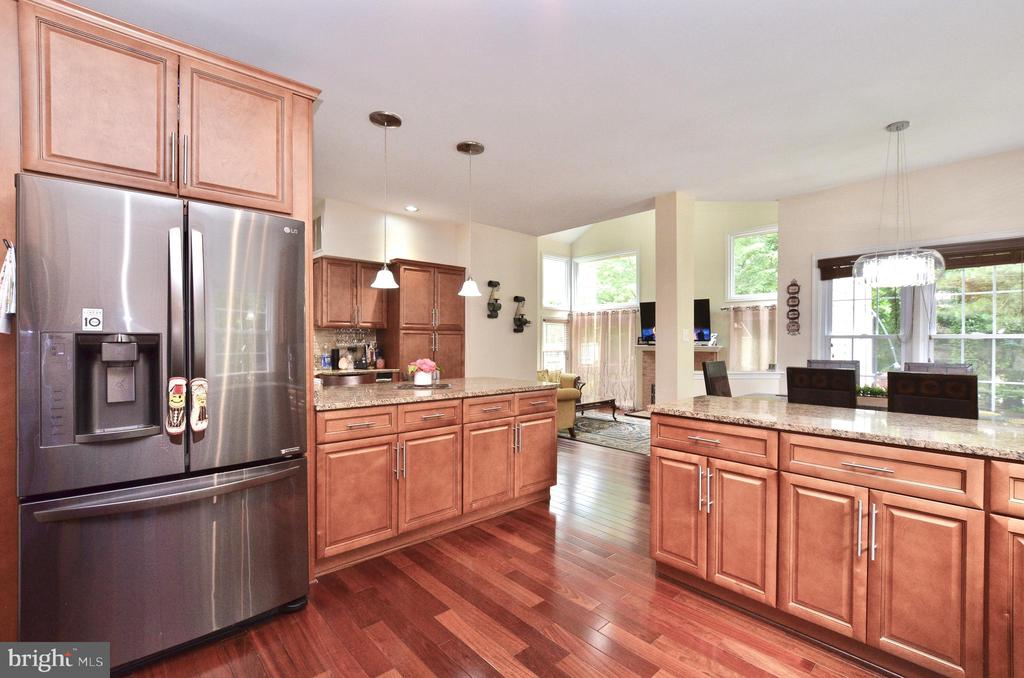Newly renovated kitchen/stainless steel appliances - 46521 HOLLYMEAD PL, STERLING