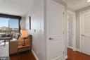 Handy Hall Closet! - 1020 N HIGHLAND ST #821, ARLINGTON
