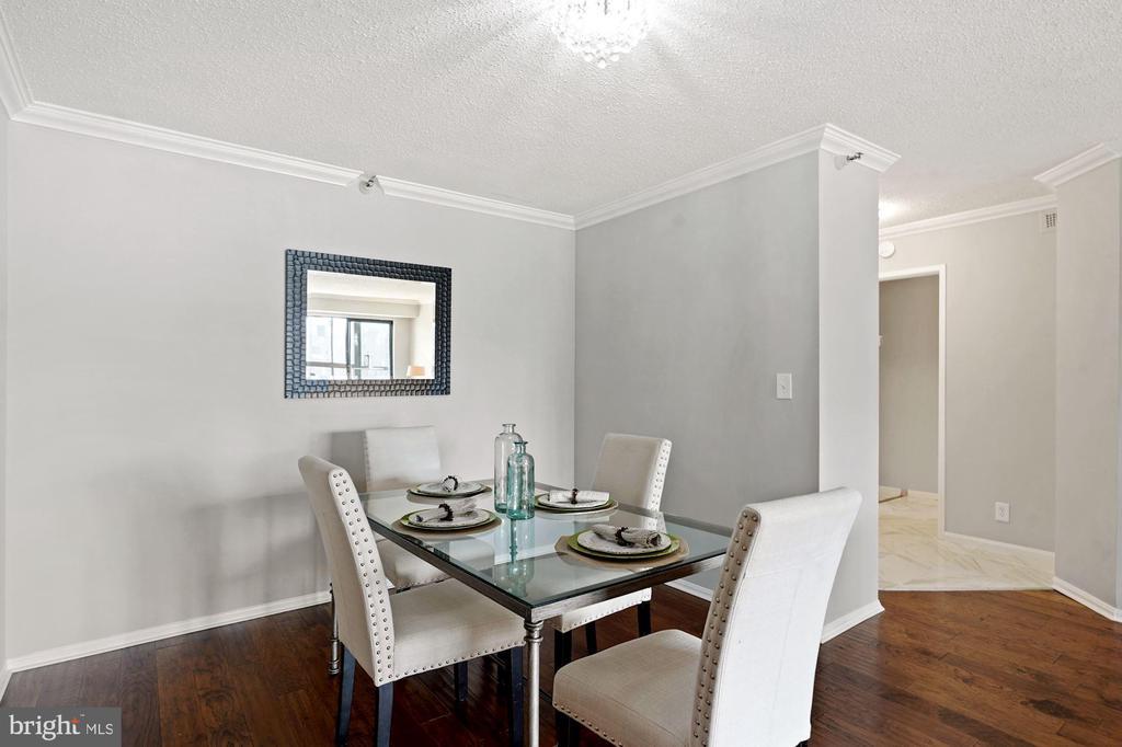 Dining area - 1600 N OAK ST #1716, ARLINGTON