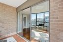 Enclosed sunroom - 1600 N OAK ST #1716, ARLINGTON