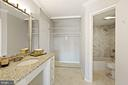 3 closets in the owner's suite - 1600 N OAK ST #1716, ARLINGTON
