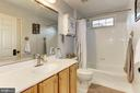 Upper Level Hall Bathroom - 26048 IVERSON DR, CHANTILLY
