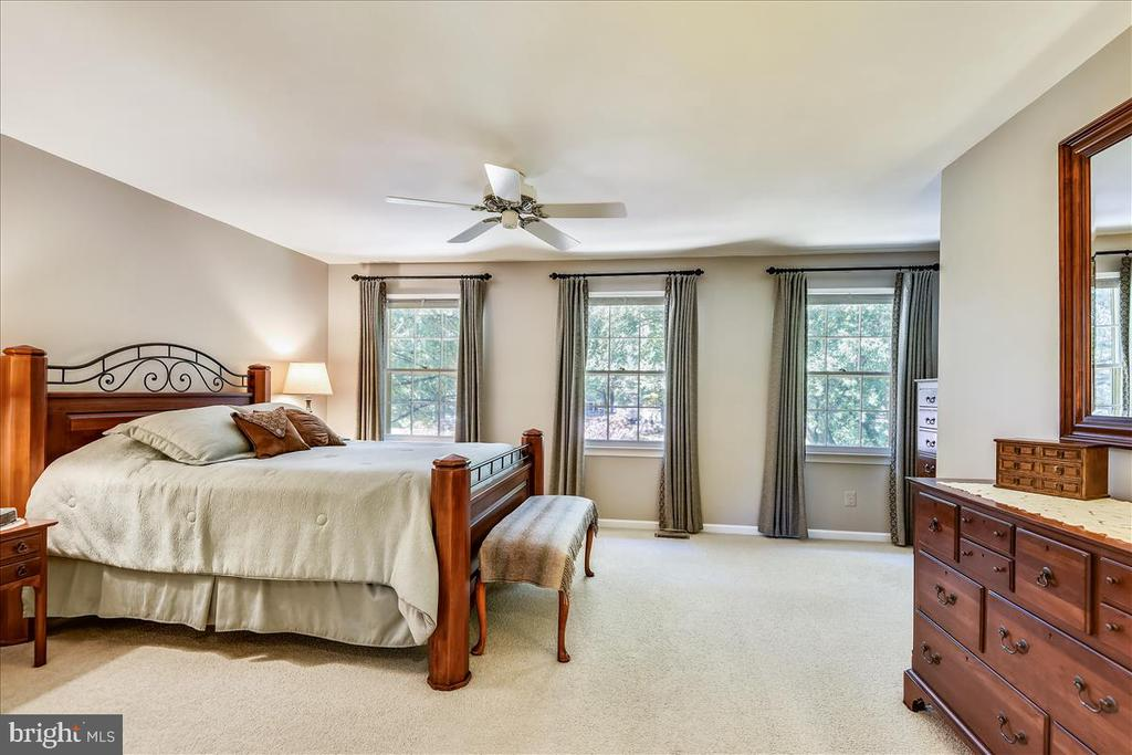 Owner's suite with sitting room and spa like bath - 14826 HUNTING PATH PL, CENTREVILLE