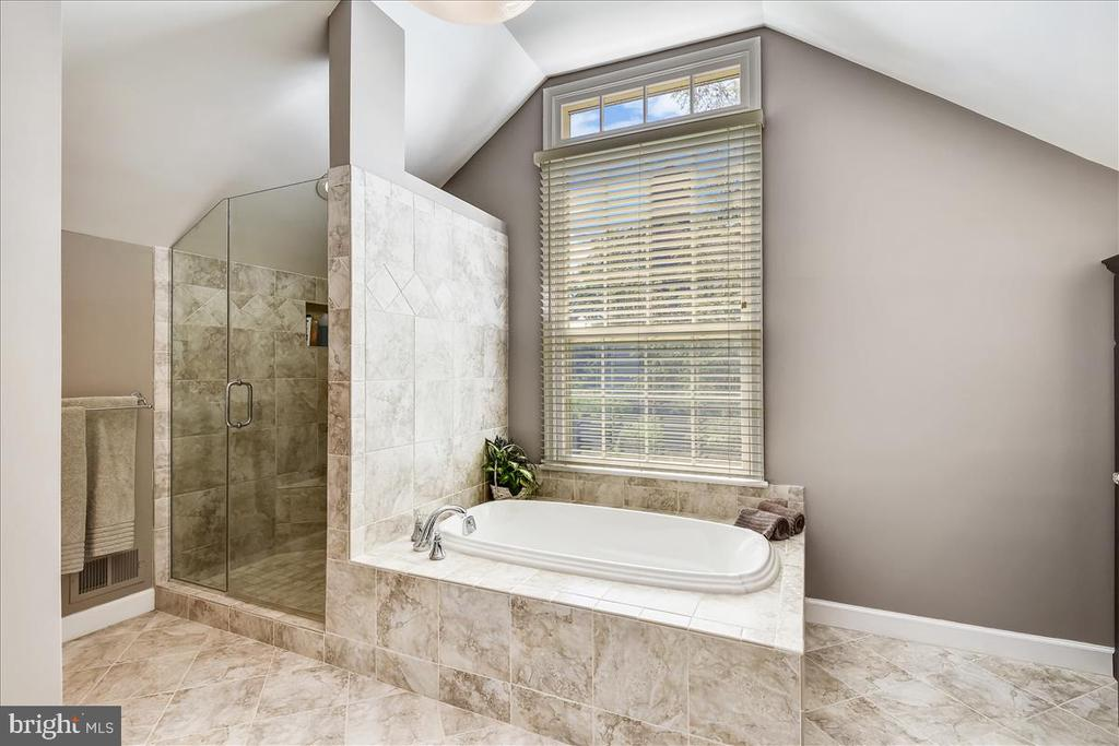 Spa like owners' bath - 14826 HUNTING PATH PL, CENTREVILLE