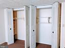 MBR double closets - 995-J HEATHER RIDGE DR #4J, FREDERICK