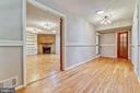 Hall opens to Rec Room - 6811 WINTER LN, ANNANDALE