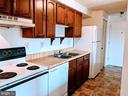 Galley kitchen - 995-J HEATHER RIDGE DR #4J, FREDERICK