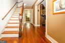 Classic Foyer with beautiful wood floors - 16 UNION ST NW, LEESBURG
