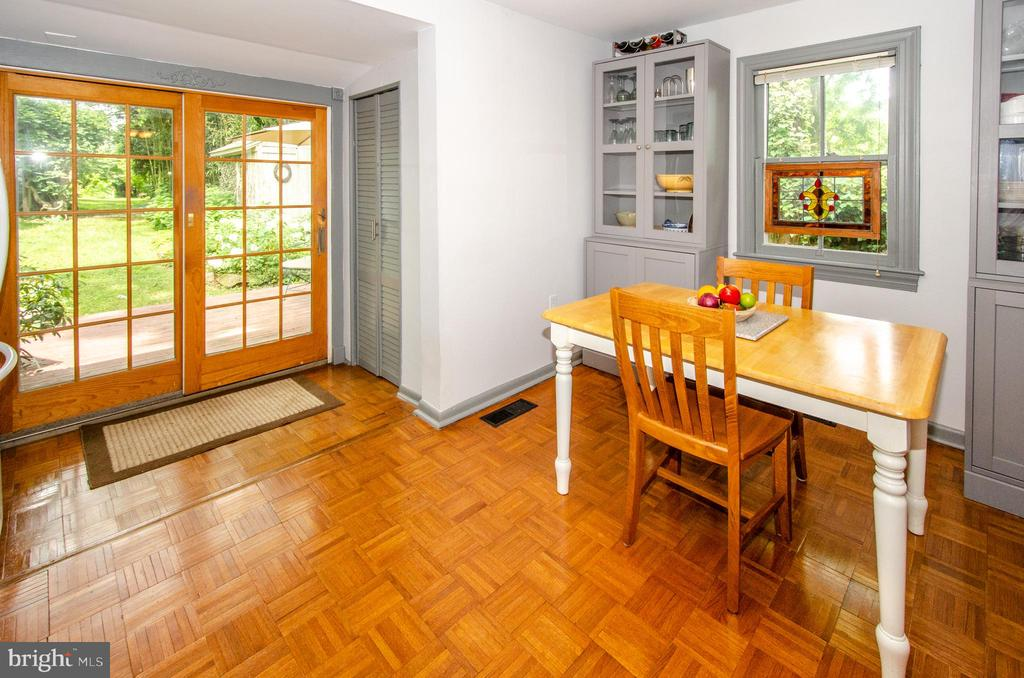 French Doors to Fabulous Rear Yard - 16 UNION ST NW, LEESBURG