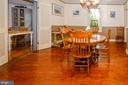 Spacious Dining Room - 16 UNION ST NW, LEESBURG