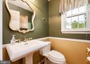 First Floor Restroom - 10200 RED LION TAVERN CT, ELLICOTT CITY