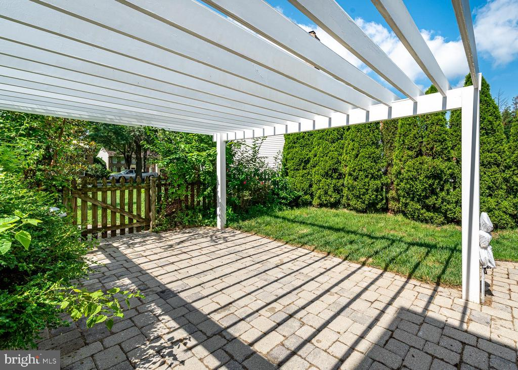 Fenced Backyard - 10200 RED LION TAVERN CT, ELLICOTT CITY