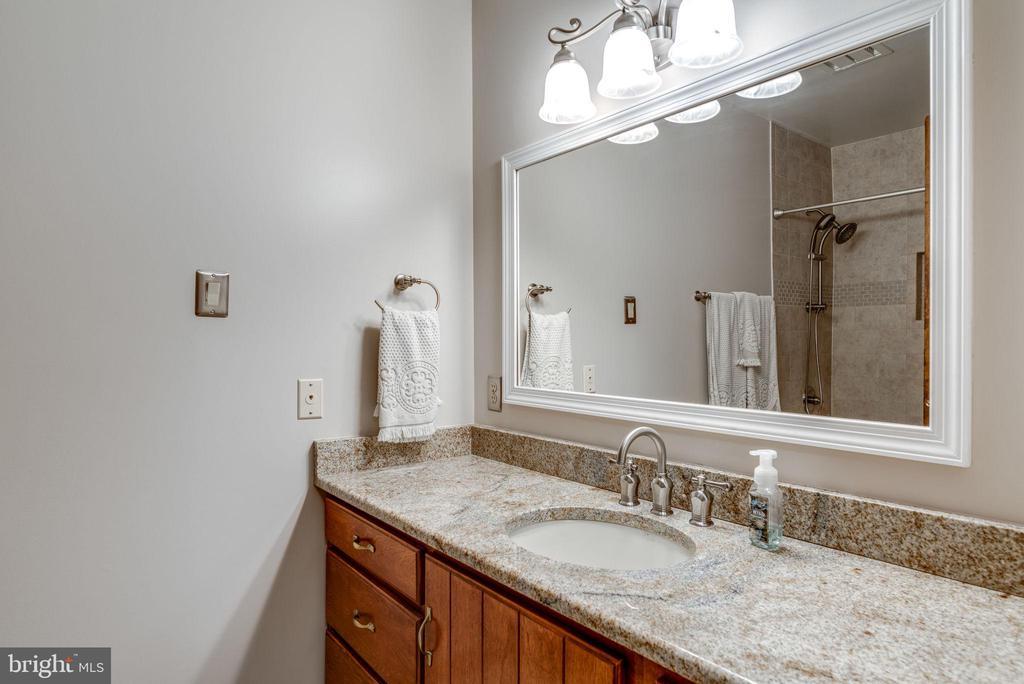 Hall Full Bathroom - 1676 LOUDOUN DR, HAYMARKET