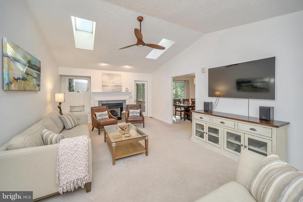 Vault Living Rm with Skylites - 111 SILVER SPRING DR, LOCUST GROVE