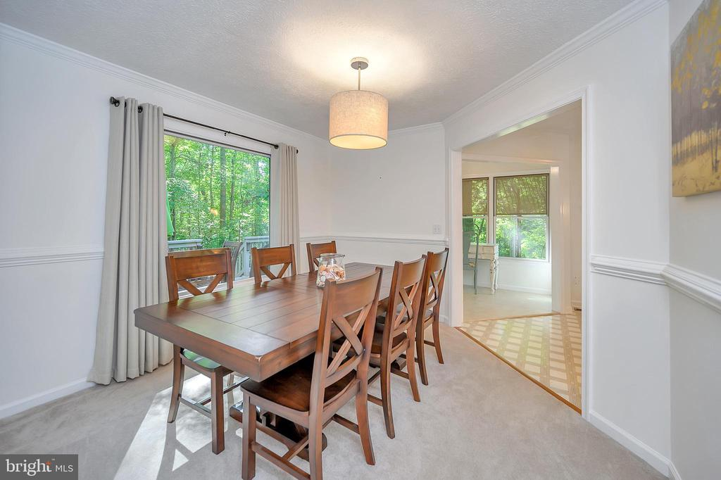 Separate Dining Room-view to studio - 111 SILVER SPRING DR, LOCUST GROVE