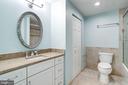 Updated Hall Bathroom - 8848 CREEKSIDE WAY, SPRINGFIELD