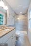 Updated Master Bathroom - 8848 CREEKSIDE WAY, SPRINGFIELD