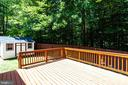 Deck Just Power Washed and Re-Stained - 8848 CREEKSIDE WAY, SPRINGFIELD