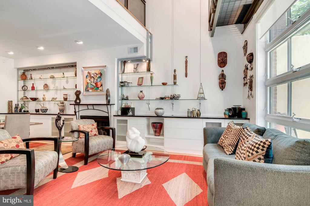 Living Room - 520 1/2 13TH ST SE #A, WASHINGTON