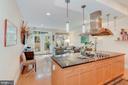 Tremendous kitchen to rear family room - 520 1/2 13TH ST SE #A, WASHINGTON