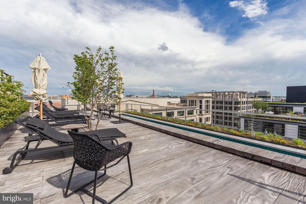 Rooftop sundeck - 920 I ST NW #715, WASHINGTON