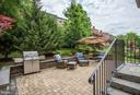 Stunning custom patio for relaxing or entertaining - 7142 DEGROFF CT, ANNANDALE