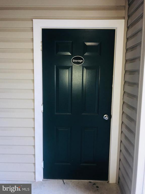 Storage Entrance - 22611 BLUE ELDER TER #301, ASHBURN