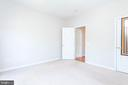 Left front bedroom with closet - 6033 SUMNER RD, ALEXANDRIA