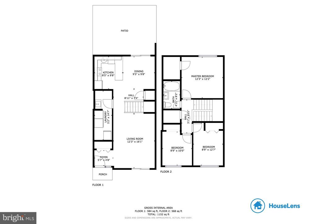 Floor plan - 1326 NORTHGATE SQ, RESTON