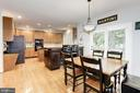 Eat-In Kitchen - 26048 IVERSON DR, CHANTILLY