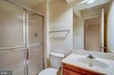 Lower Level Full Bath - 8037 SKY BLUE DR, ALEXANDRIA