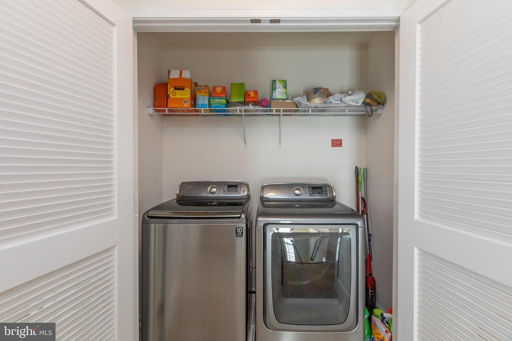 Upper level laundry - 43172 ASHLEY HEIGHTS CIR, ASHBURN