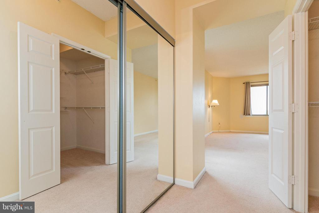 Walk-in Closet and second storage closet - 19365 CYPRESS RIDGE TER #417, LEESBURG
