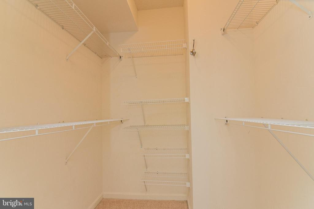Walk-in Closet - 19365 CYPRESS RIDGE TER #417, LEESBURG