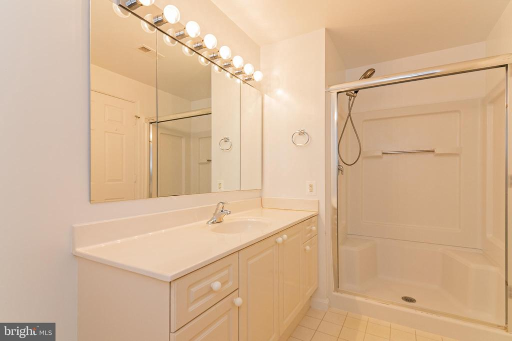 Large Ensuite Bath - 19365 CYPRESS RIDGE TER #417, LEESBURG