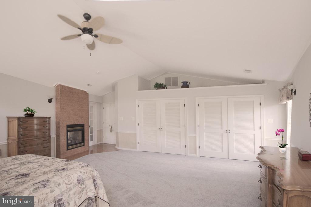 Double sided gas fireplace - 5678 WATERLOO RD, COLUMBIA