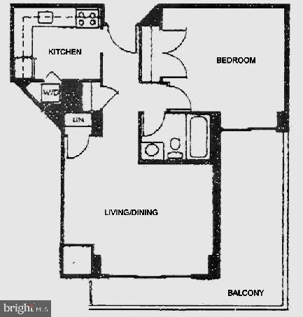 Floor PLan - 1301 N COURTHOUSE RD #916, ARLINGTON