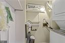 Laundry Room - Washer & Dryer in Condo + Storage! - 1931 WILSON LN #102, MCLEAN