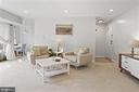Living Room - New Carpet & New Recess Lighting! - 1931 WILSON LN #102, MCLEAN