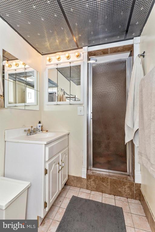 basement full bath - 8931 COLESVILLE RD, SILVER SPRING