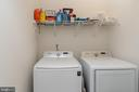 Coveted upstairs laundry - 7142 DEGROFF CT, ANNANDALE