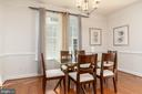 Formal dining - 7142 DEGROFF CT, ANNANDALE